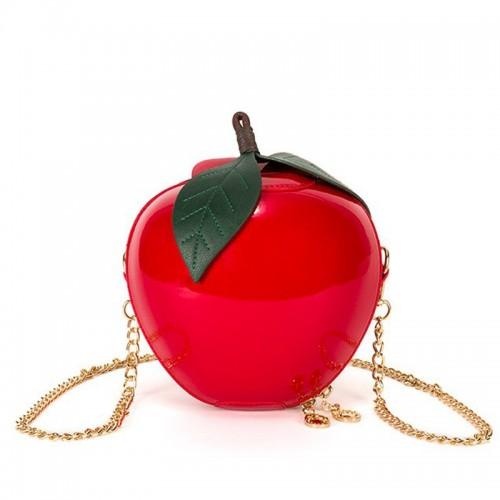 Bolso manzana roja